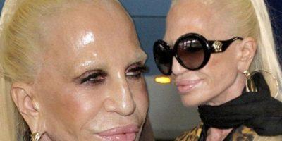 Así cambió Donatella Versace a través de los años Foto:Twitter