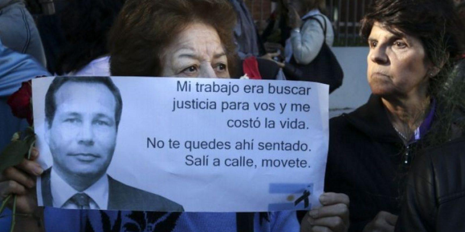 Durante los últimos días, miles de personas han mostrado su indignación por la muerte de Nisman Foto:AFP
