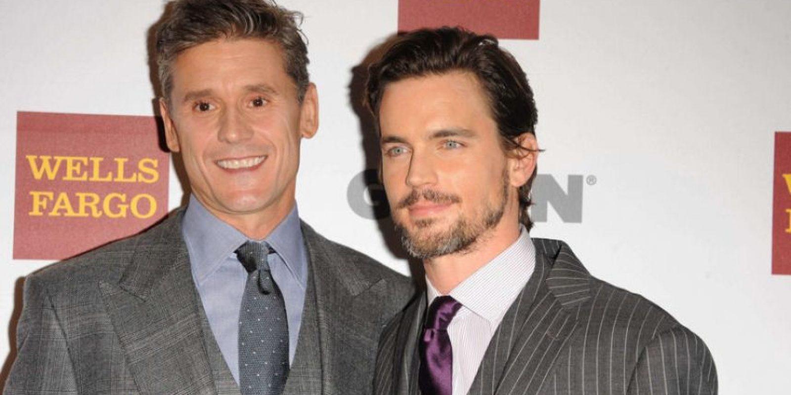 El protagonista de White Collar, Matt Bommer y su esposo Simon Halls