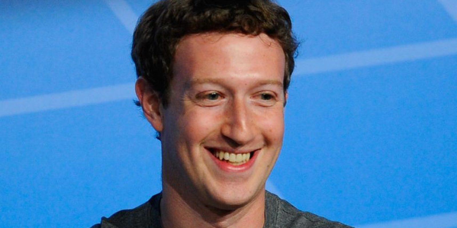 Mark Zuckerberg, CEO de Facebook, ha mostrado su intención de tener un mundo más conectado. Foto:Getty Images