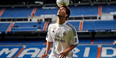 El mediocampista brasileño llegó al Real Madrid por 17 millones de dólares proveniente del Cruzeiro de su país. Foto:twitter.com/realmadrid