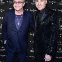el cantante británico Elton John y su esposo David Furnish Foto:Getty Images