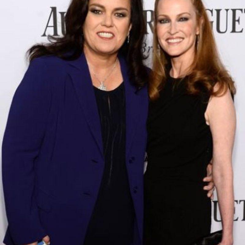 La actriz y presentadora Rosie O'Donnell y Michelle Rounds Foto:Getty Images