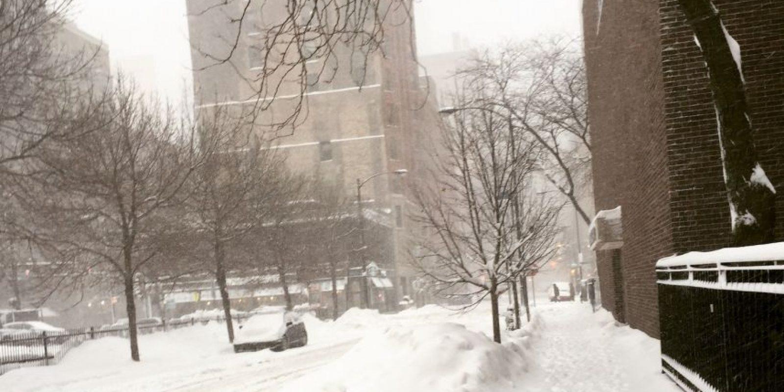 Muchos se quedaron en casa tras la fuerte tormenta invernal. Foto:Publimetro