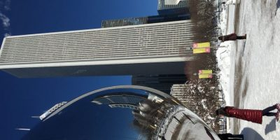 La ciudad de los vientos paralizó por unos días sus actividades. Foto:Publimetro