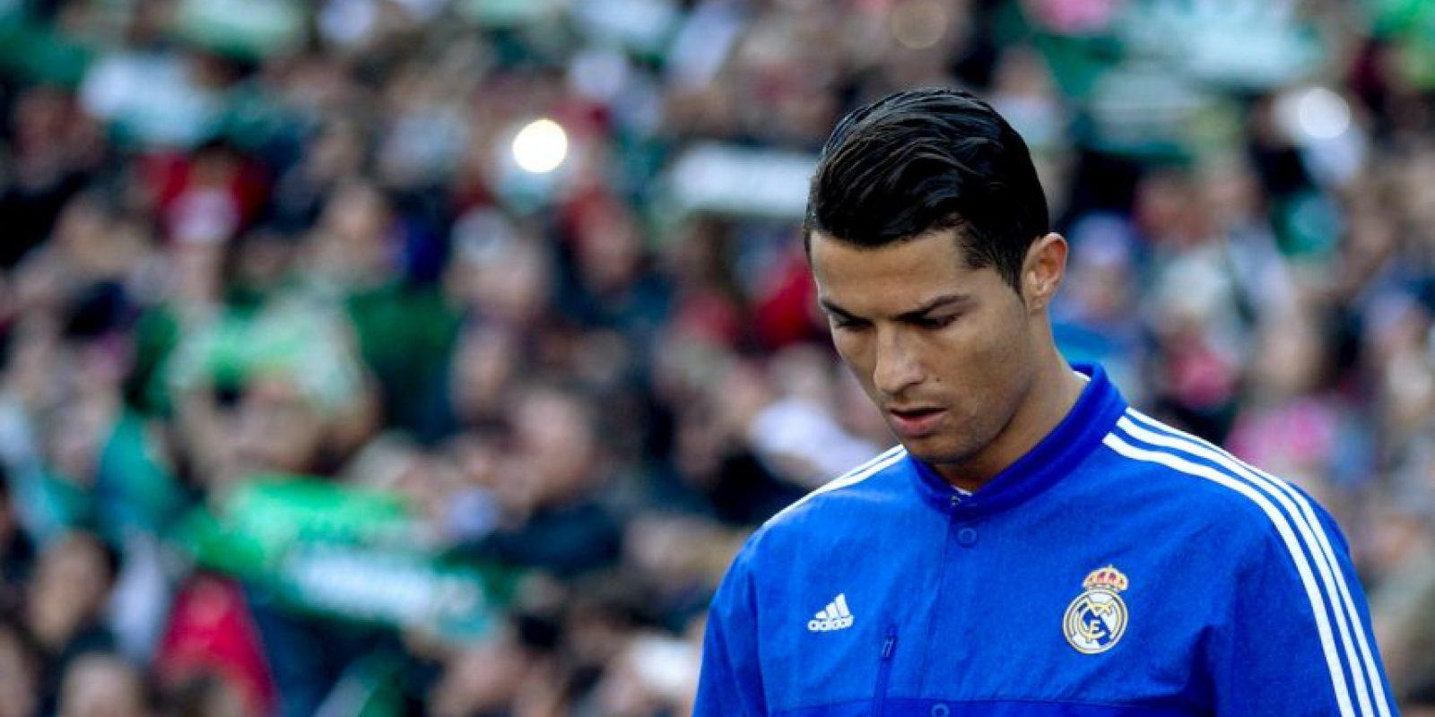 Cristiano Ronaldo cumpirá su segundo partido de suspensión Foto:Getty