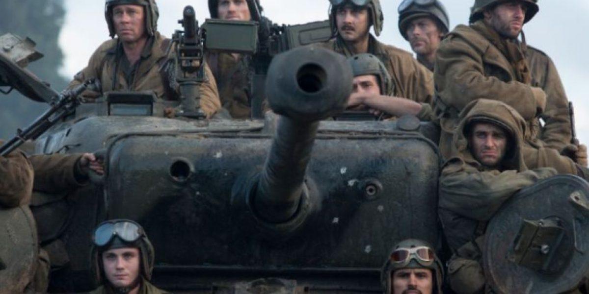 Brad Pitt protagoniza la película Corazones de hierro