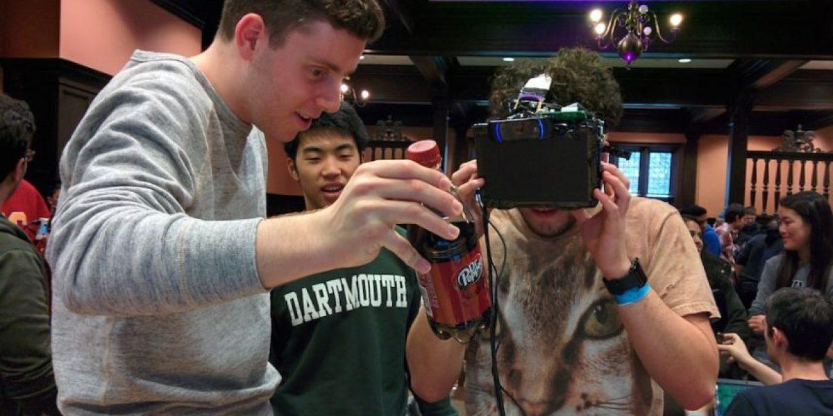 Los lentes de realidad aumentada que bloquean los logos de las marcas