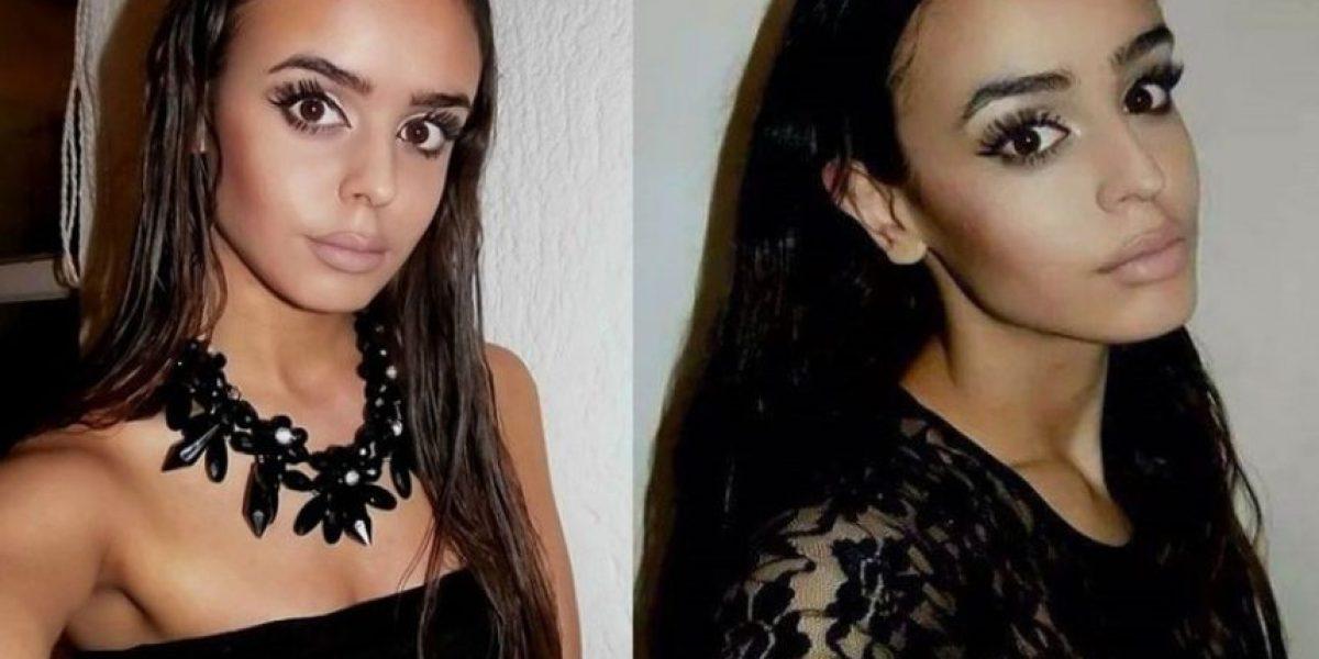 ¡Por un hombre! Una modelo apuñaló a su hermana gemela