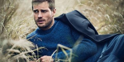 """Christian Grey tiene un lado oscuro. Tanto como el de Jamie en """"The Fall"""", donde interpreta a un asesino serial. Foto:Vogue"""