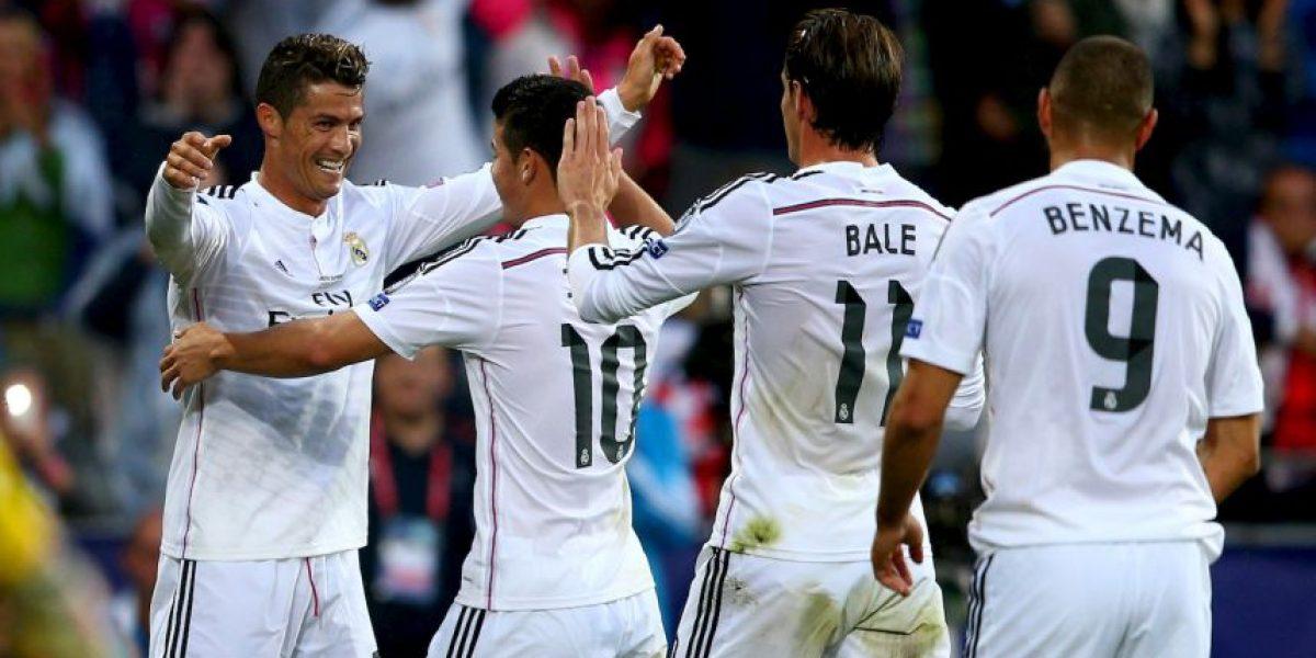 Estrellas del Real Madrid felicitan en Twitter a Cristiano Ronaldo