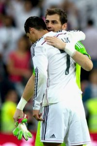 Iker Casillas también recordó el cumpleaños del portugués Foto:Getty