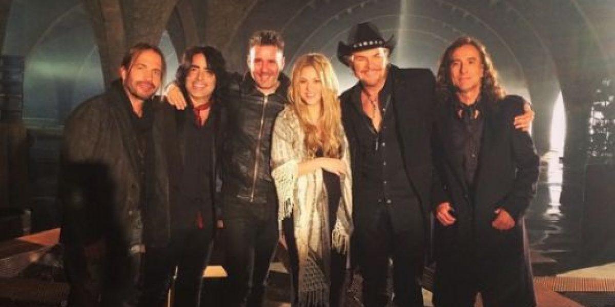Maná y Shakira adelantan imágenes de