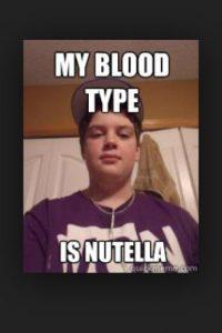 """Para escoger la nueva marca comercial optó por utilizar la acepción inglesa de avellana «nut», a la que le añadió el sufijo latino de """"ella"""" Foto:Tumblr.com/Tagged-nutella-meme"""