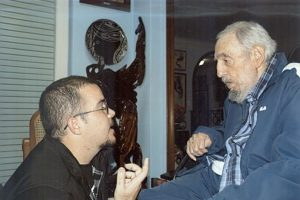 Fue la primera aparición de Castro en 5 meses Foto:Granma