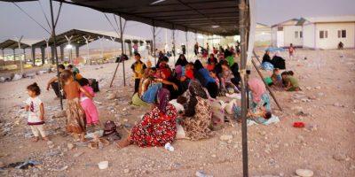 Habitantes de Mosul, en Irak. Foto:Getty Images