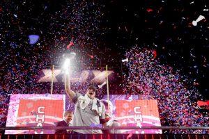 Los Patriotas de Nueva Inglaterra se coronaron campeones 28-24 sobre los Halcones Marinos de Seattle Foto:Getty Images