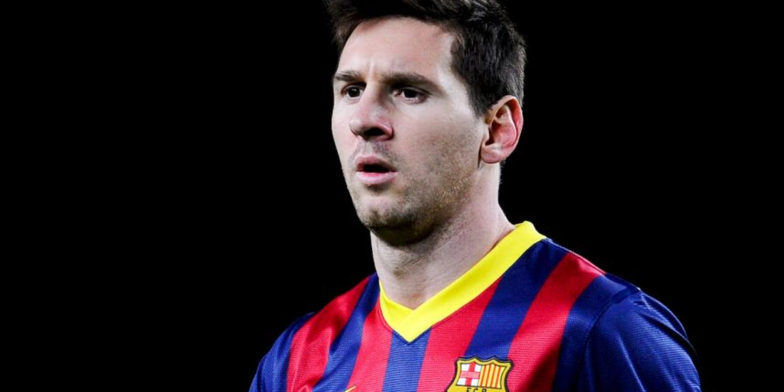 El futbolista Lionel Messi comparte el rasgo de la nariz Foto:Getty Images