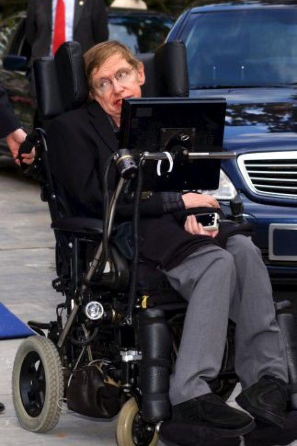 Steven Hawking, astrofísico y divulgador científico. Foto:Getty Images