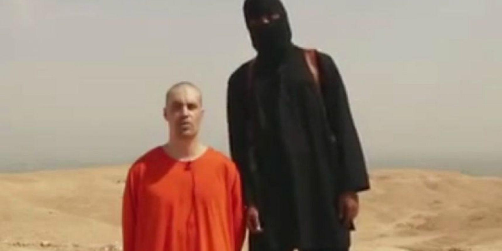 Decapitación del periodista estadounidense James Foley, en agosto de 2014. Foto:AP