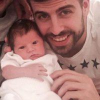 Piqué con su hijo Sasha Foto:http://www.worldbabyshower.org/es