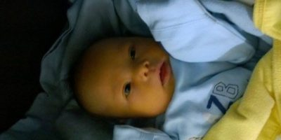 Samuel pidió ayuda online, recibiendo apoyo en todo el mundo. Planea criar al bebé en Nueva Zelanda, con ayuda de su familia. Foto:GoFundme