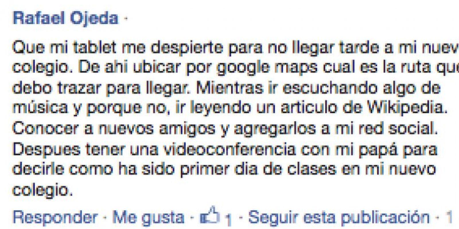 1) Rafael Ojeda