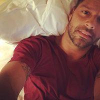 Sobre todo cuando se toma sus selfies Foto:Instagram/Ricky Martin
