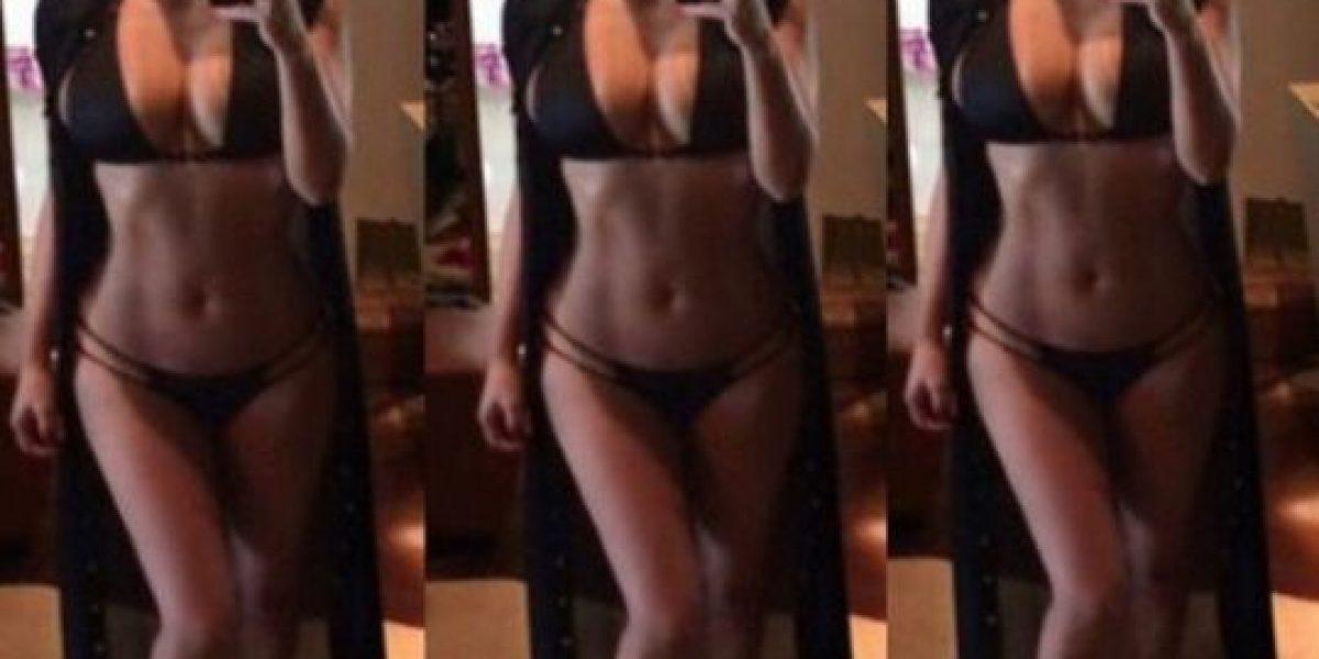 ¡Ya la vio! Kim Kardashian ofrece su