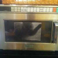 Foto de gato en el microondas. Foto:Prankked