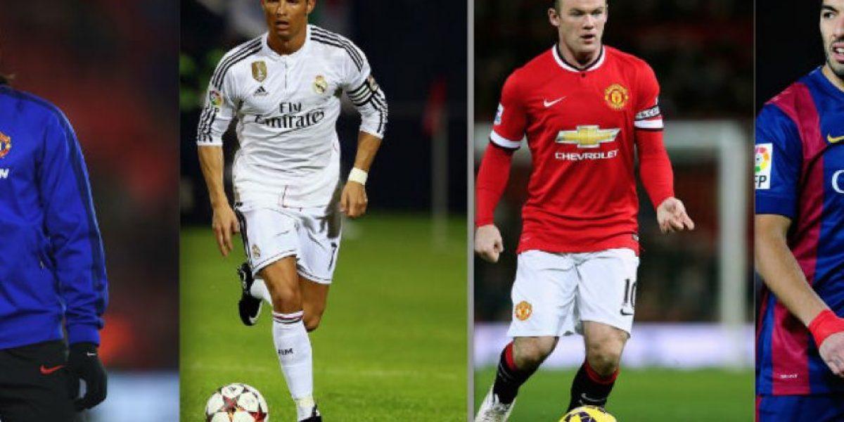 ¿Cuánto tardarían en ganar el mismo salario que las estrellas del fútbol?