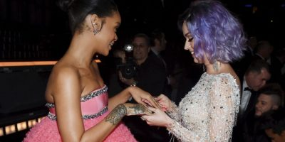Compartiendo con Rihanna Foto:Getty Images