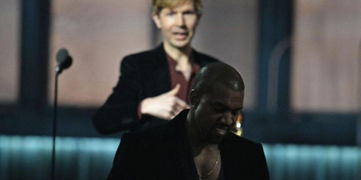 ¡No era broma! Kanye West se enojó porque Beck le ganó a Beyoncé
