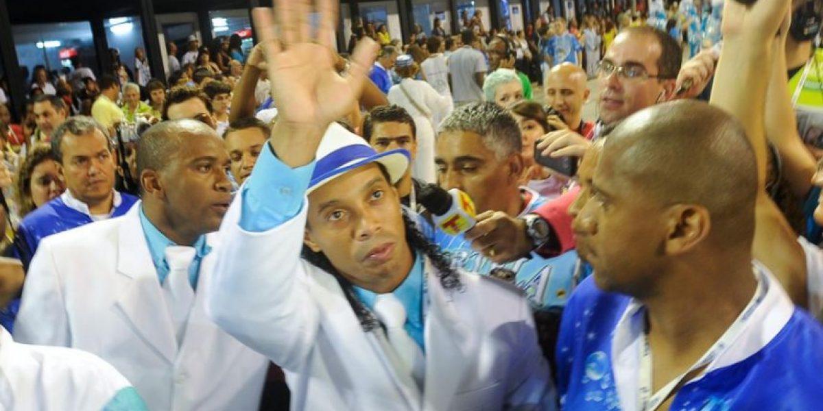 Galería: Entre fiesta y carnavales, los futbolistas de