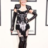 Madonna como dominatrix de Givenchy Foto:Getty Images