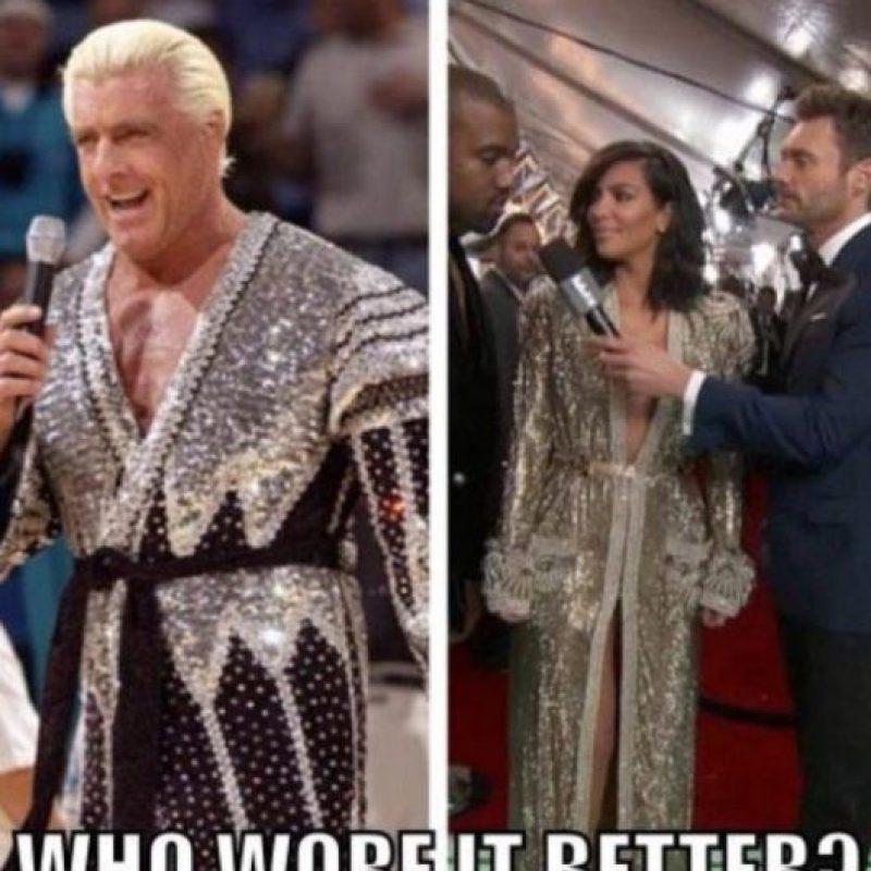 Te compararon con luchadores de los años 80. Foto:Twitter
