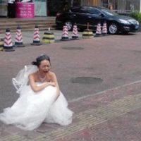 La dejó. Foto:Weibo