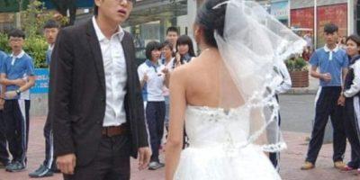 Esperaba una escena tipo Hollywood Foto:Weibo