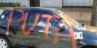 Artista callejero, obvio. Foto:Facebook