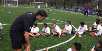 El mexicano Rafael Márquez tiene una fundación enfocada en los niños. Foto:facebook.com/RafaMarquezOficial