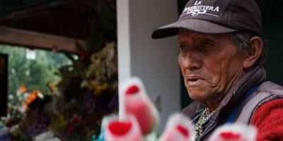 Es florista hace 30 años. Foto:Juan Pablo Pino / Publimetro