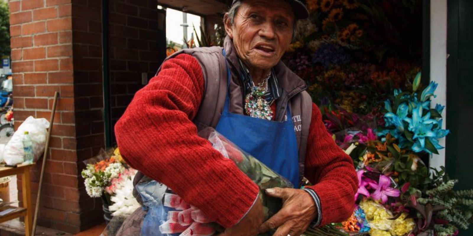 Las flores son un negocio familiar. Foto:Juan Pablo Pino / Publimetro