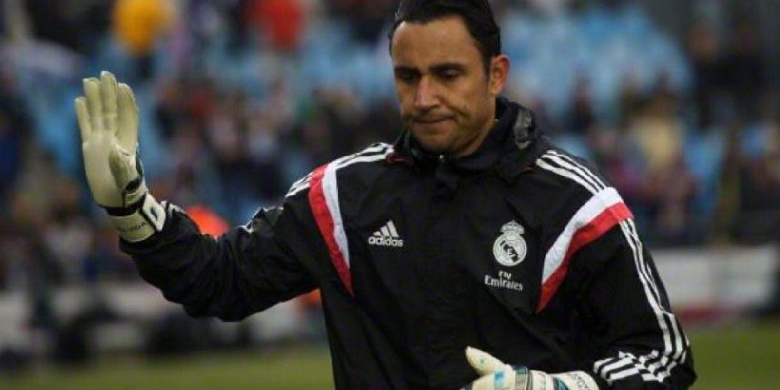 El arquero costarricense Keylor Navas no seguiría en el club. Foto:Twitter