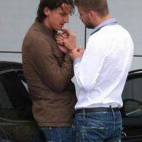 Zlatan Ibrahimovic y Piqué protagonizaron este incidente. Foto:Twitter