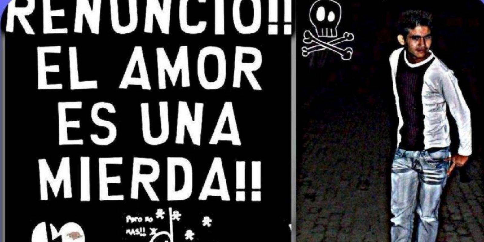 El rebelde. Foto:Facebook
