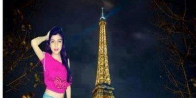La que se fue a París. Foto:Facebook