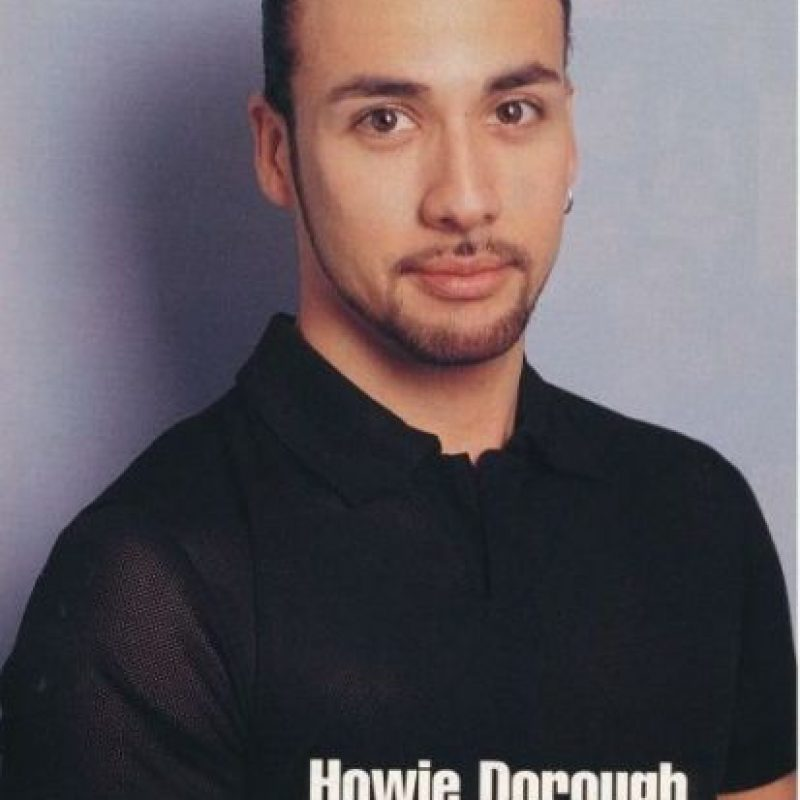 Howie D. antes Foto:Getty Images