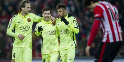 Barcelona dejó en el camino al Atlético de Madrid Foto:Getty