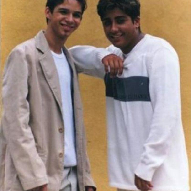 Rene y Renny en los años 90. Foto:Instagram