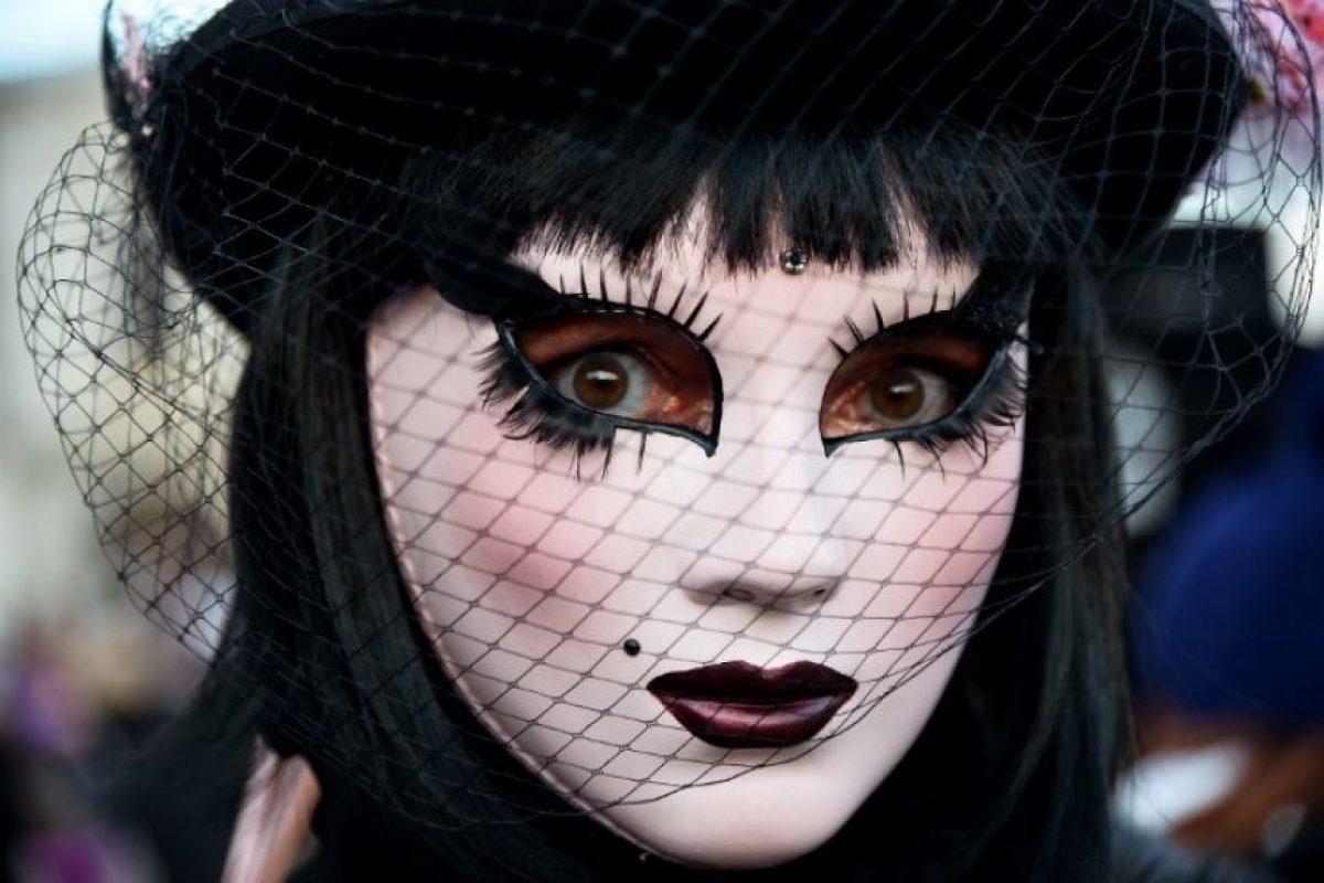 Las máscaras son el elemento más importante del carnaval, pues en su comienzo se usaban para disfrutar más libertad sin ser reconocidos Foto:AFP
